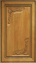 Enkeboll Carved Cabinet Doors